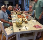 2019 - Shrimp Supper at Dean and Camille's home in Hampstead, NC