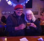 Edwin and Gwen at the City Tap