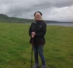 Gwen in Uig, Skye, Scotland